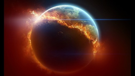 destruction by fire