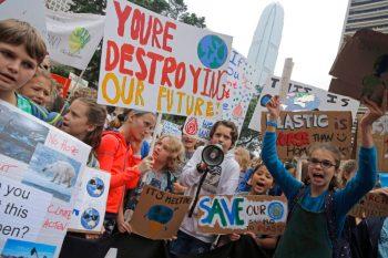 Hong Kong Climate Student Protests